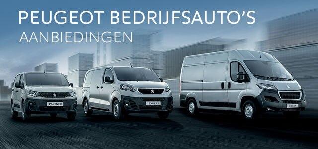 Peugeot Bedrijfsauto's aanbiedingen per model