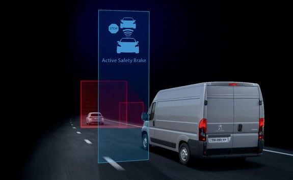 Peugeot Boxer - Snelheidslimietherkinnings- en snelheidsadviessysteem