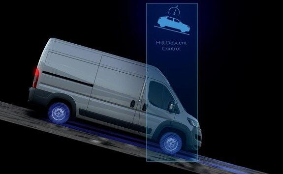 Peugeot Boxer - Hill Descent Control (HDC)