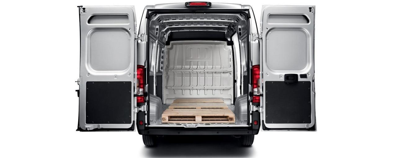 Peugeot Boxer - Achterzijde achterdeuren