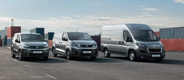 Peugeot Professional - Gamma bedrijfsauto's