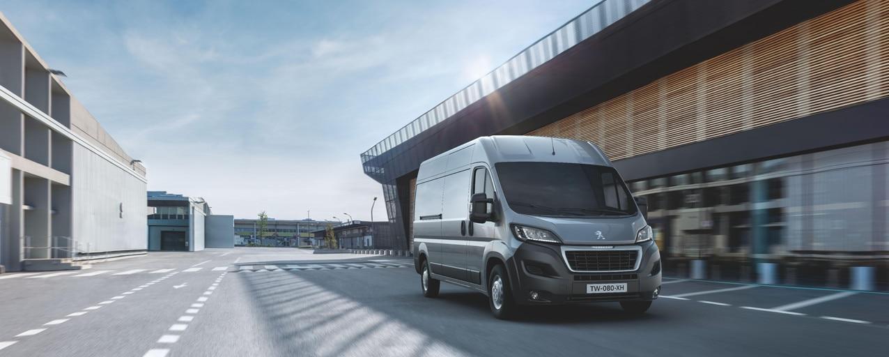 Peugeot Boxer Asphalt - Comfort en Veiligheid