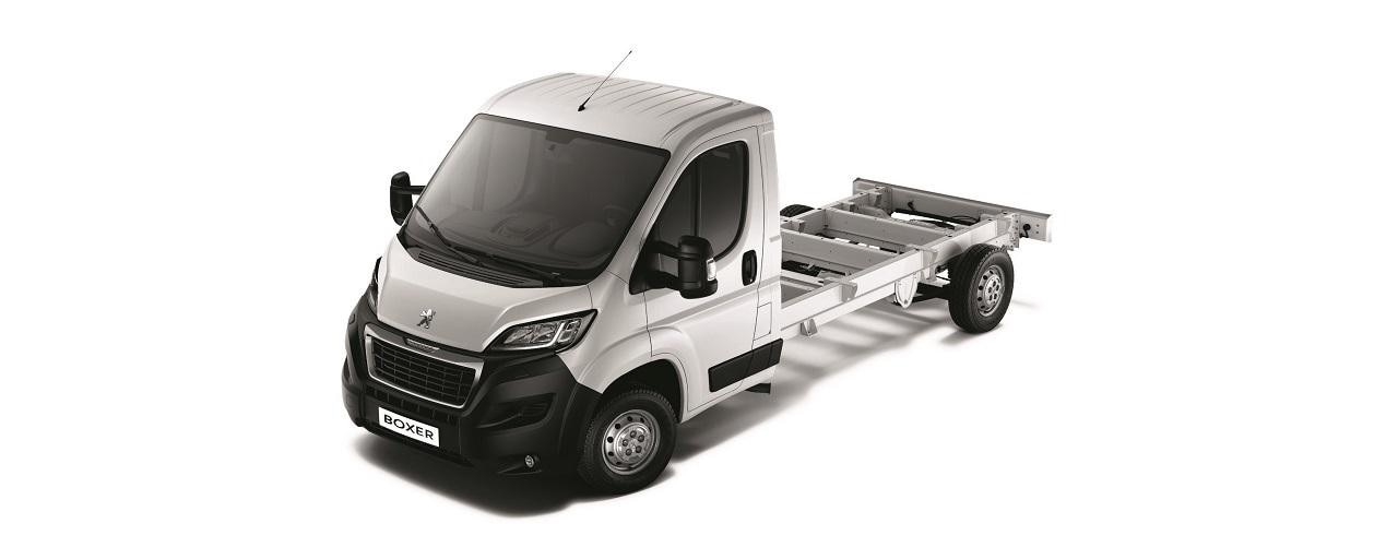 Peugeot Boxer - uitvoering Chassis Cabine