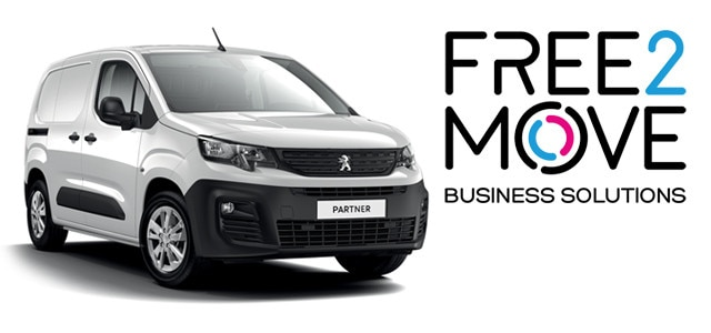 Peugeot Partner - FREE2MOVE Business Solutions