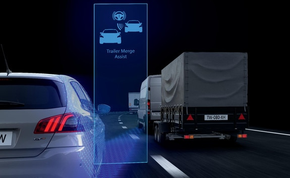 Peugeot Boxer - Trailer Merge Assist