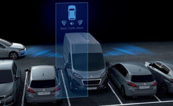 Peugeot Boxer - Rear Traffic Alert
