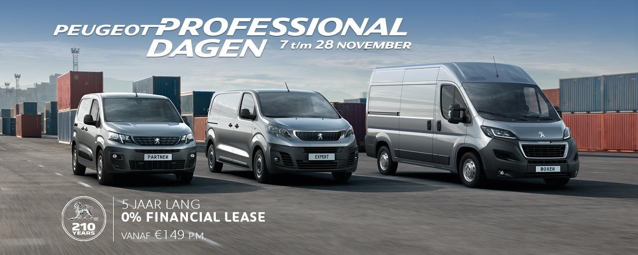 Peugeot Professional Dagen  - 7 t/m 28 november
