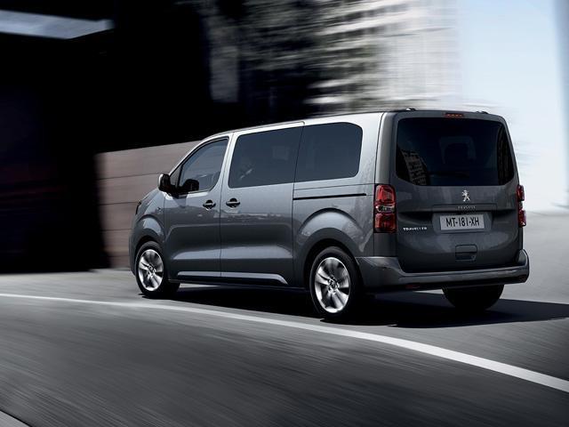 Peugeot Traveller Business - exterieur zijaanzicht