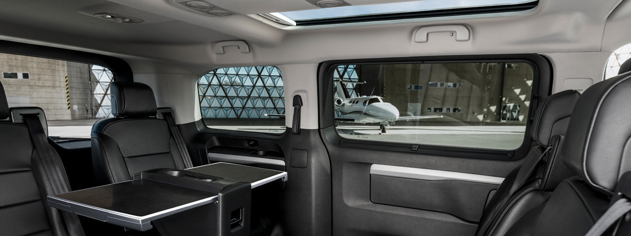 Peugeot Traveller Business VIP - interieurdesign