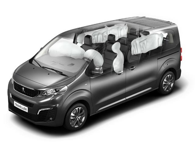 Peugeot Traveller Business - Veiligheid 6 airbags