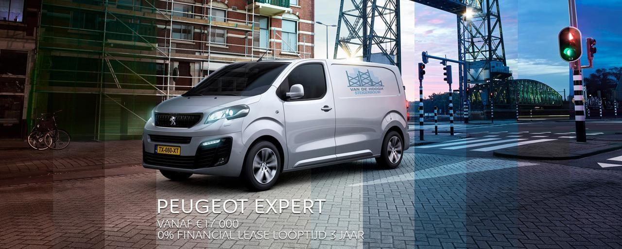 Peugeot Expert - de bedrijfsauto die uw werk vergemakkelijkt