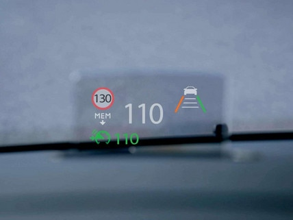 Peugeot TRAVELLER BUSINESS – Head-up display