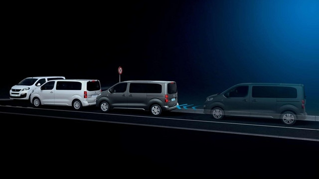 Peugeot TRAVELLER BUSINESS – Active Safety Brake