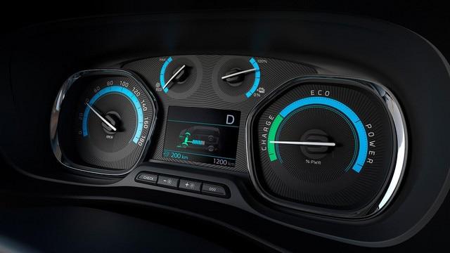 Nieuwe Peugeot e-TRAVELLER BUSINESS - Nieuw instrumentenpaneel, specifiek voor de elektrische aandrijflijn