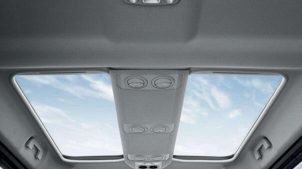 Peugeot EXPERT COMBI - tweedelig panoramadak met zonneschermen