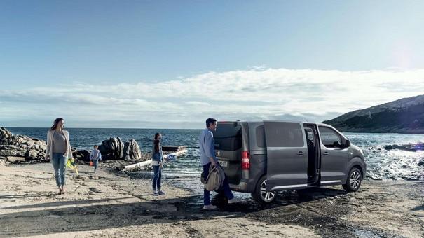 Peugeot EXPERT COMBI – handsfree te bedienen schuifdeuren