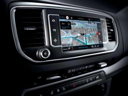 Peugeot EXPERT COMBI – Connect 3D-navigatiesysteem