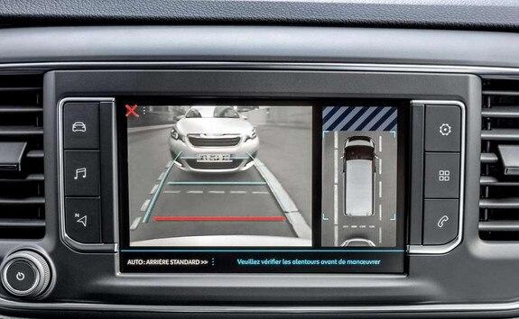 Peugeot EXPERT COMBI – achteruitrijcamera