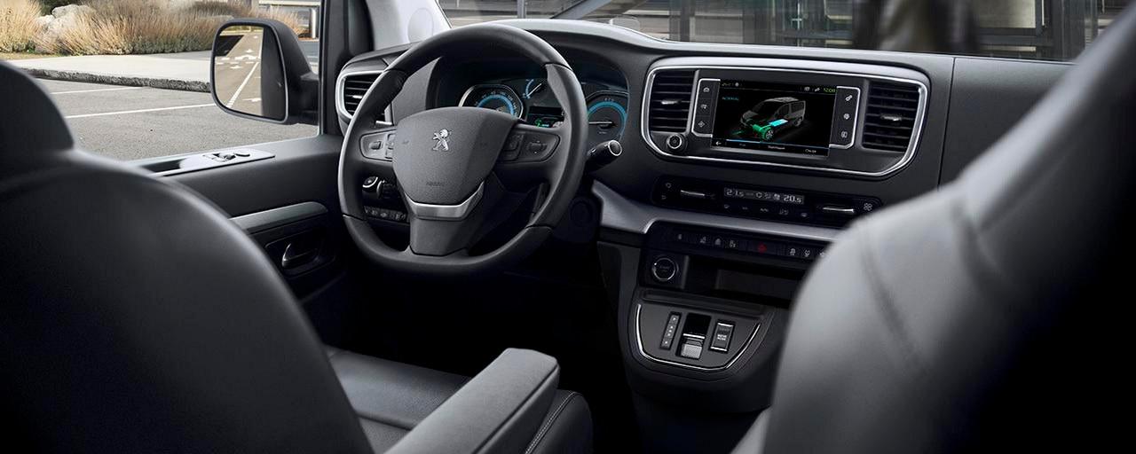 Nieuwe Peugeot e-EXPERT COMBI – Bestuurdersplaats elektrische uitvoering