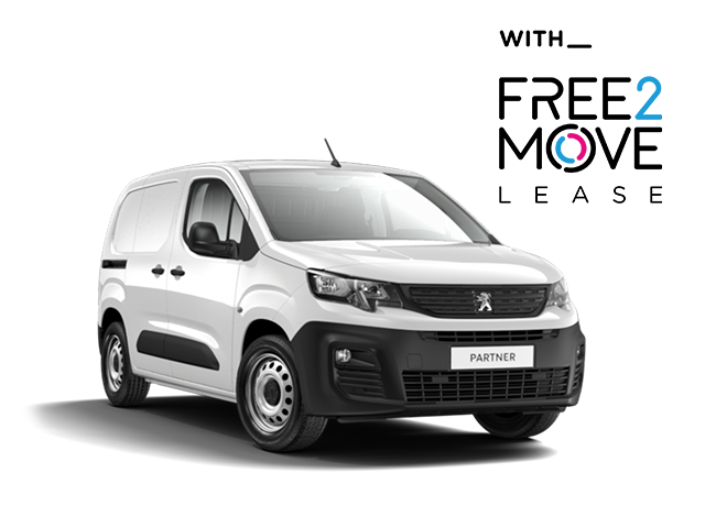 nieuwe Peugeot Partner - Free2Move Lease