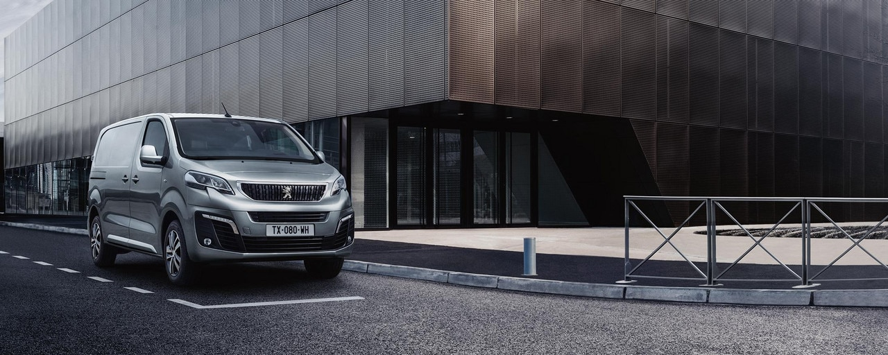 Peugeot Expert – Exterieurdesign met karakteristiek front