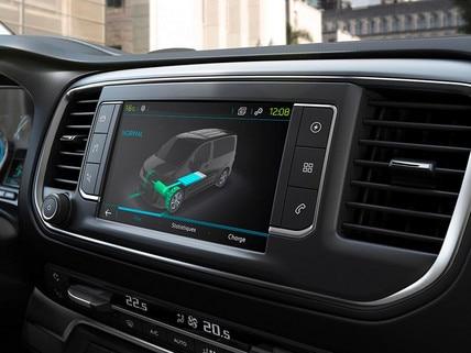 Nieuwe Peugeot e-EXPERT COMBI – 3D touchscreen