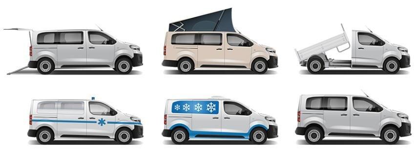 Peugeot Expert – Ombouwmogelijkheden
