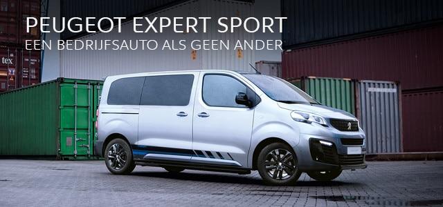 Peugeot Expert Sport - Een bedrijfsauto als geen ander