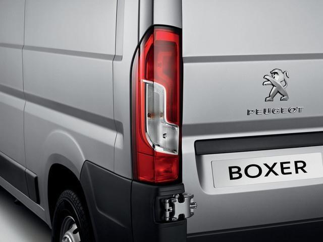 Peugeot Boxer -  exterieur achterzijde