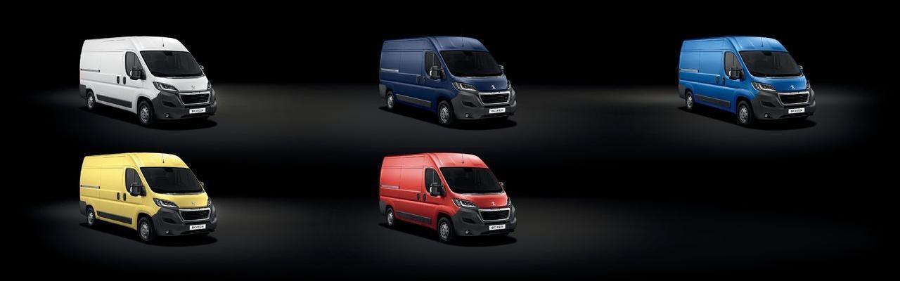 Peugeot Boxer -  design - niet metallic lakken