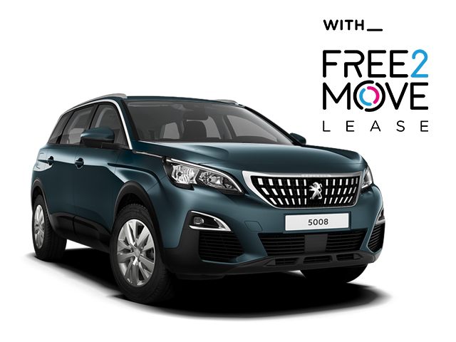 Peugeot 5008 SUV - Free2Move Lease