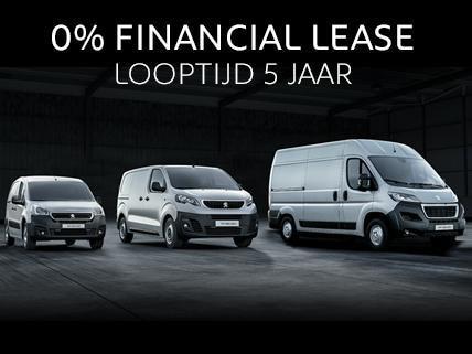 Peugeot Professional Dagen - Financial Lease 5 jaar