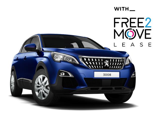 Peugeot 3008 SUV - Free2Move Lease