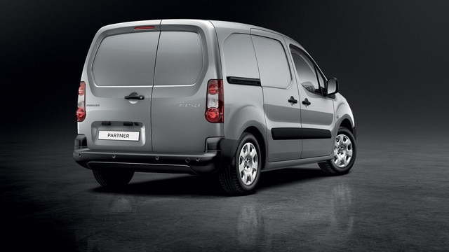 Peugeot Partner - bedrijfswagen achterzijde