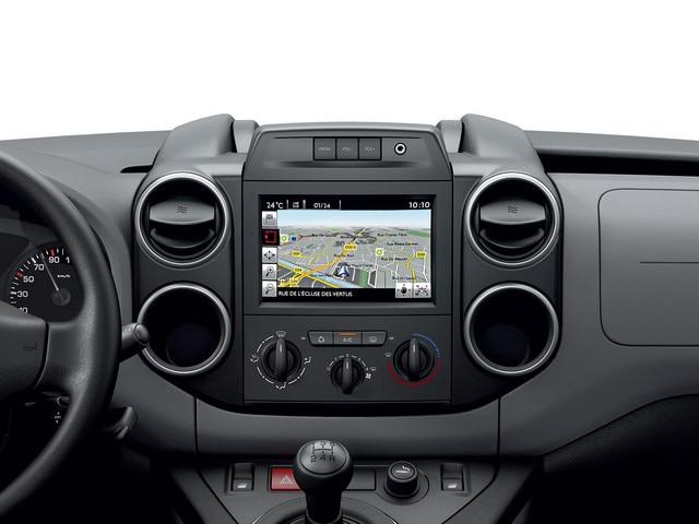 Peugeot Partner - interieur 7 inch kleurentouchscreen