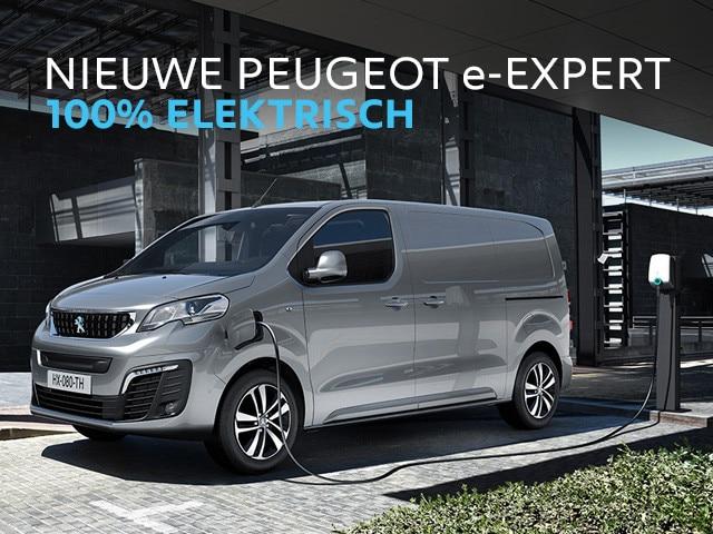 Nieuwe Peugeot e-EXPERT