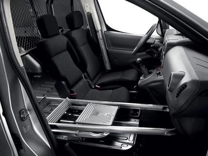 Peugeot Partner -  laadruimte - Multiflex-bank