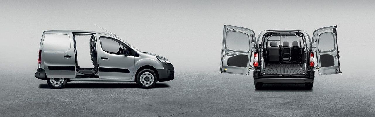 Peugeot Partner -  laadruimte - schuifdeur