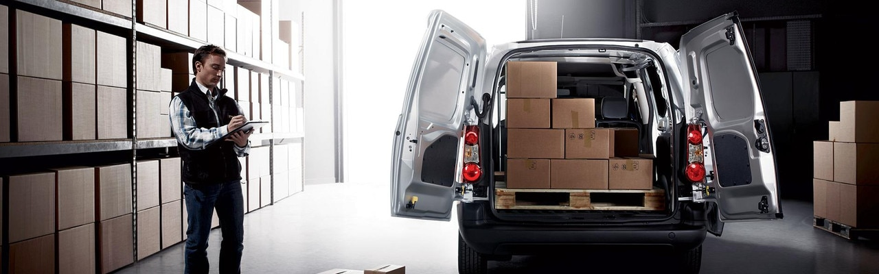 Peugeot Partner - interieur laadruimte