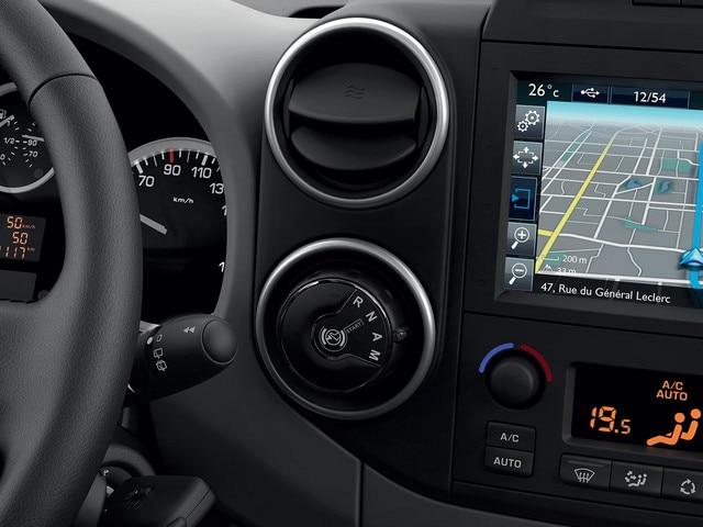 Peugeot Partner -  dashboard - bediening ETG6-versnellingsbak