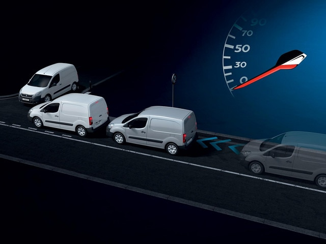 Peugeot Partner -  veiligheid - Active City Brake