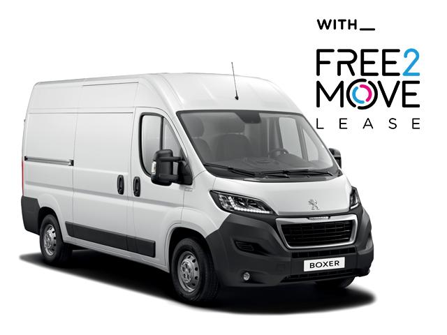 Peugeot Boxer - Free2Move Lease