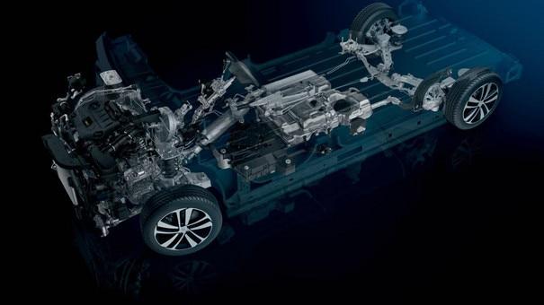 Peugeot Expert - modulaire platform EMP2