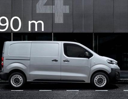 Peugeot Expert - bescheiden afmetingen