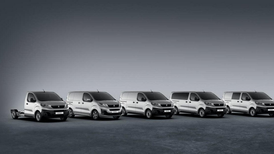 Peugeot Expert - carrosserievarianten