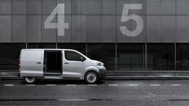 Peugeot Expert - exterieur zijaanzicht schuifdeur