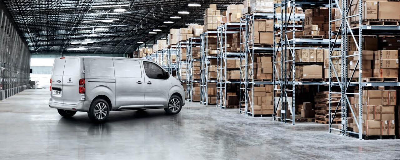 Peugeot Expert - exterieur zijaanzicht