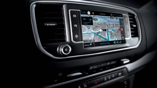 Peugeot Expert - Connect 3D-navigatiesysteem