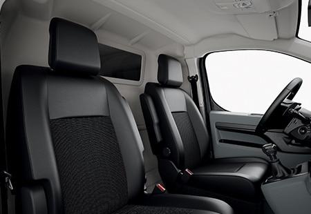 Peugeot Expert - interieur zitplaatsen