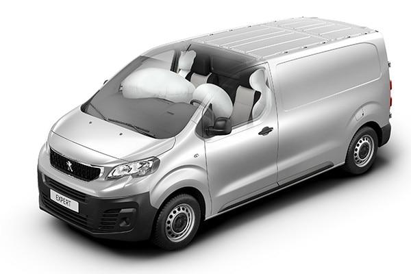 Peugeot Expert - Veiligheid 4 airbags